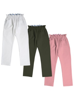 Heart Pocket Pants [3 Colors]