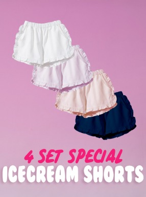 Icecream Shorts 4SET/ 1PCS 22500원