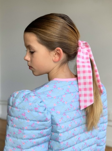 Gingham Check Scrunchies