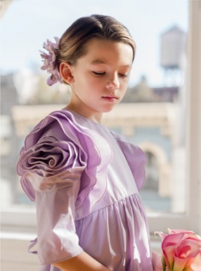 Rose Dress- Lavender