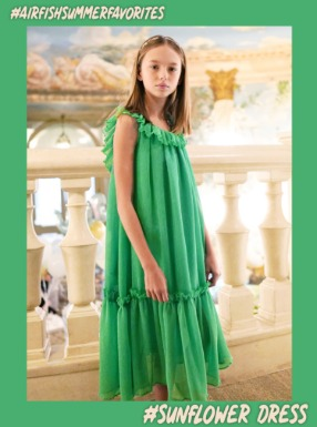 #SunFlowerDress [Green]