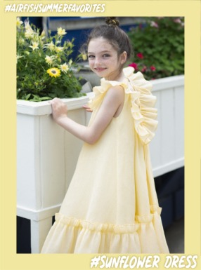 #SunFlowerDress [Yellow]