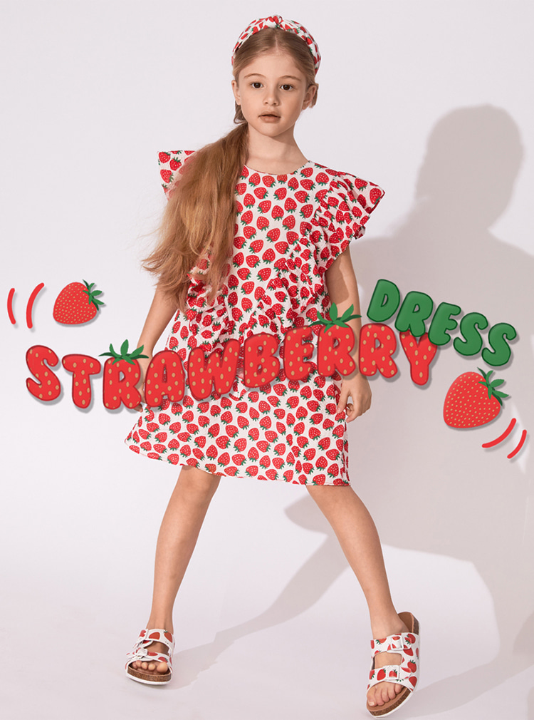 Strawberry #AngelDress